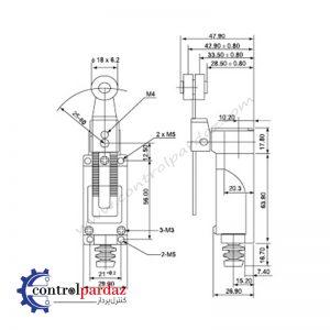 مشخصات و قیمت لیمیت سوئیچ CNTD مدل TZ-8108