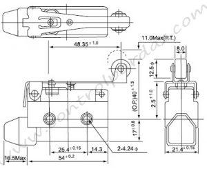 خرید و قیمت میکروسوئیچ CNTD مدل CZ-7121