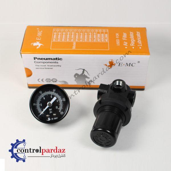 خرید و قیمت رگولاتور باد پنوماتیک E.MC مدل ENR2000-025