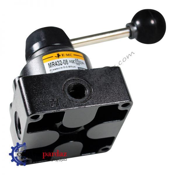 فروش شیر دستی پنوماتیک 3-4 مدل E.MC MR432-08