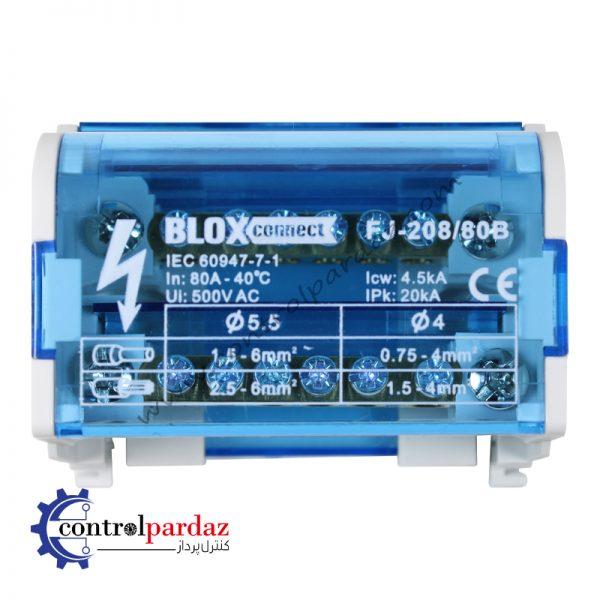 مشخصات و فروش ترمینال توزیع بلاکس کانکت مدل FJ-208-80B