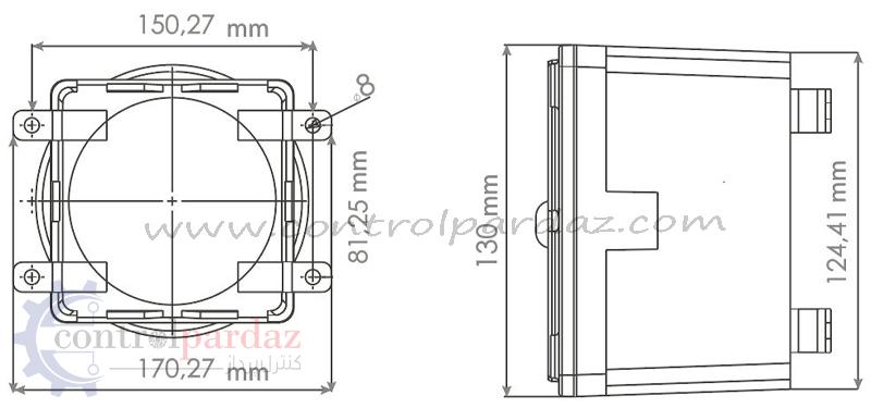 مشخصات آژیر خطر فلزی موکو SNT-ES120-22