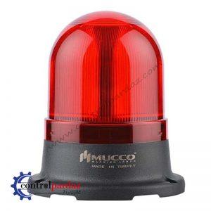 چراغ چشمک زن آژیردار MUCCO مدل SNT-725-FB-1