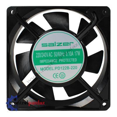 فن تابلویی بلبرینگ SALZER مدل PD122B-220