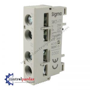 کمکی کلید حرارتی سیگما مدل SMK25-F11